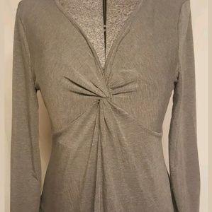 Motherhood maternity gray shirt medium